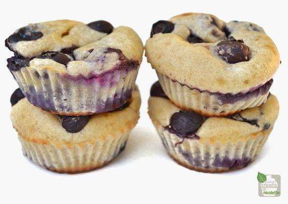 Mini Blueberry Protein Muffins MACROS for 1 mini muffin:  68 calories, 3.6g protein, 5.6g carbs, 1.5g fiber, 3.7g fat, 1g sugar