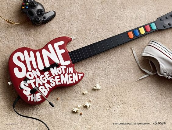 Sparrow Guitars: Shine | Ads of the World™