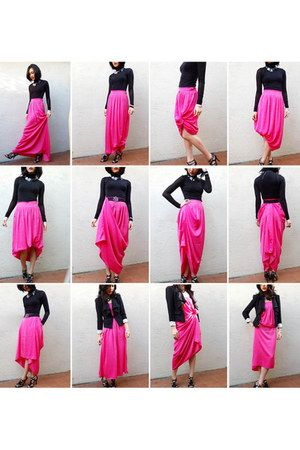 12 Different Ways To Wear A Maxi Skirt