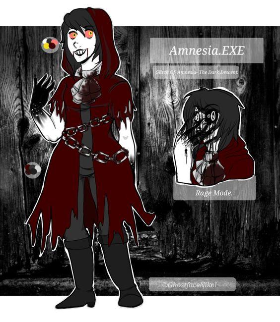 CREEPYPASTA REF- Amnesia.EXE by GhostfaceNikol.deviantart.com on @DeviantArt