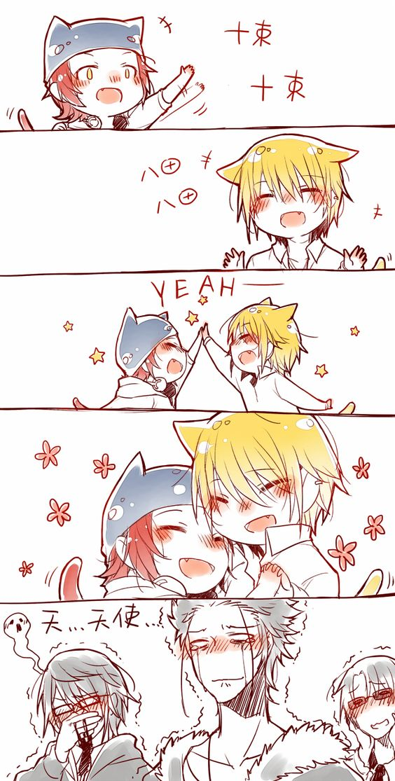 K Project - ohmygoodness too adorable!!