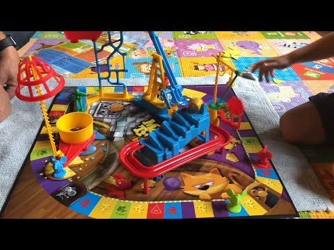 Noah Plays Mouse Trap A Classic Milton Bradley Now Hasbro Game Youtube In 2020 Mouse Traps Fancy Video Hasbro