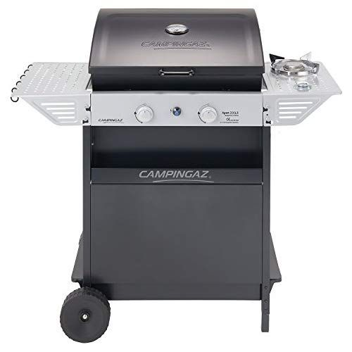 Campingaz Gas Bbq Xpert 200 Ls Compact 2 1 Burner Gas Barbecue Grill 2 Stamped Steel Grids Side Table And Steel Gas Barbecue Grill Gas Bbq Best Gas Grills
