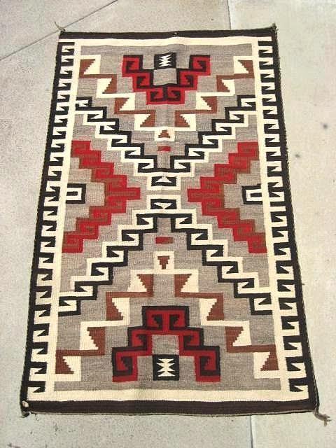 Navajo Pattern Coloring Page Southwestern Native American 7