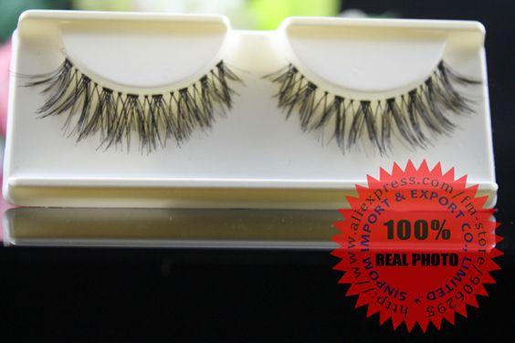Eyelashes cross false eyelashes eyelash extensions hand made transparent terrier eye lash 204486 (32pairs/lot) Free shipping-in False Eyelashes from Health & Beauty on Aliexpress.com | Alibaba Group
