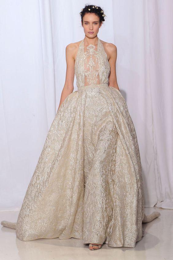 O jardim secreto de Reem Acra para noivas bucólicas e luxuosas - Vogue | Desfiles