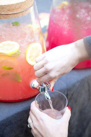 Flavored lemonade 3 ways