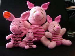 crochet piglets