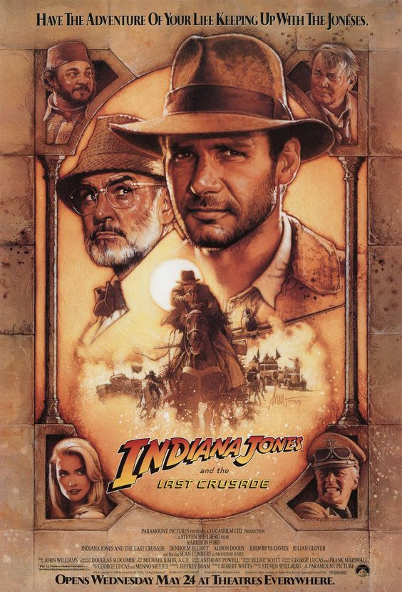 """""""Indiana Jones and the Last Crusade"""" > 1989 > Directed by: Steven Spielberg > Action / Adventure / Costume Adventure"""