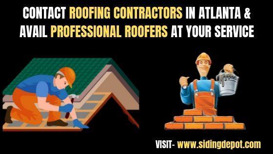 Roofing Contractors In Atlanta Roofing Roofing Contractors Roof Installation