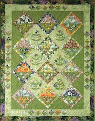 Free Spring Bouquet Quilt pattern by Bev Remillard