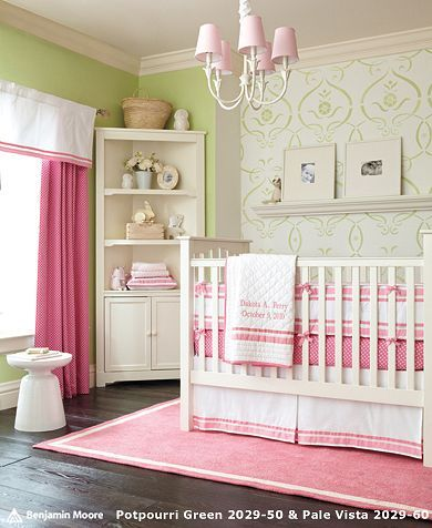 Idea for baby girl room Baby Girl Pinterest Nurseries, Pink Nurseries ...