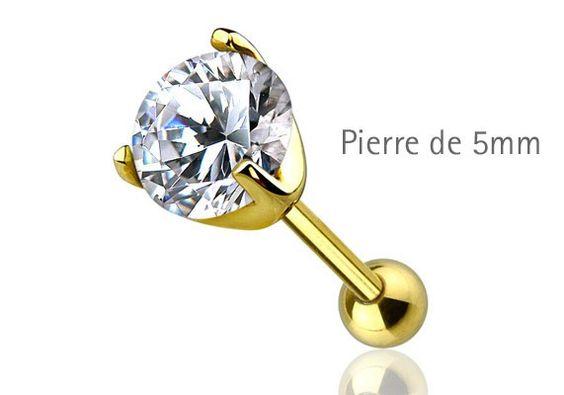 PIERCING HÉLIX ET CARTILAGE PLAQUÉ-OR ZIRCON http://www.aiapiercing.com/piercing-oreilles/cartilage-helix-et-anti-helix/piercing-helix-et-cartilage-plaque-or-zircon Allié au plaqué-or, ce bijou de piercing convient à l'hélix, au tragus, au lobe. #piercing #helix #plaqueor #tragus #lobe