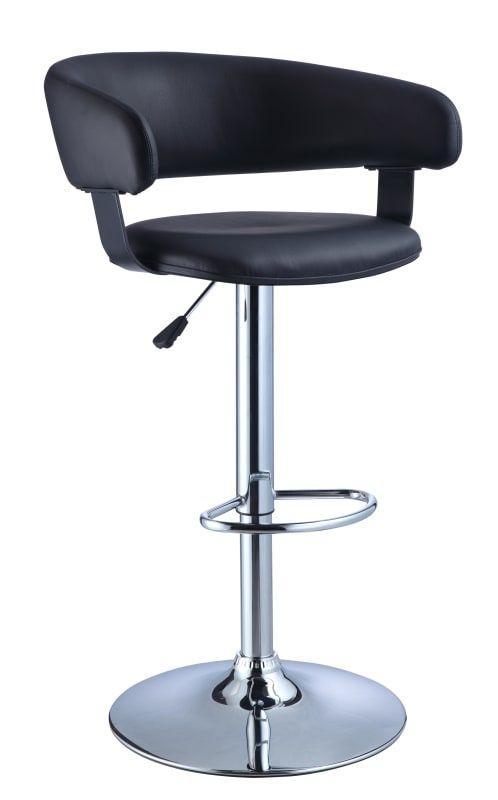 Powell Home Fashions 21 915 Adjustable Bar Stools Powell Furniture Black Bar Stools