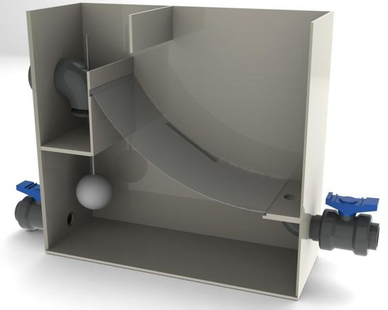 Diy Gravity Feed Sieve Filter Koi Pond Construction