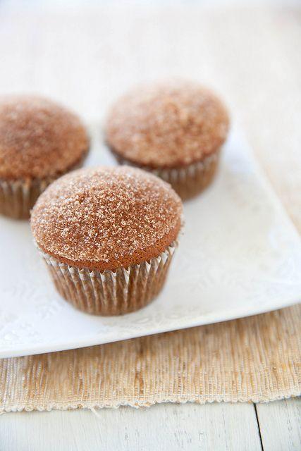 Gingerbread Doughnut Muffins | Annie's Eats: Breakfast Muffins, Cupcakes Muffins, Gingerbread Doughnut, Doughnut Muffins, Recipes Muffins, Food Muffins, Muffins Recipe, Gingerbread Muffins, Muffins Annie