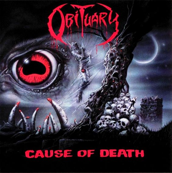 An incredible old school death metal album from the band Obituary. My second favorite death metal band, following Death.