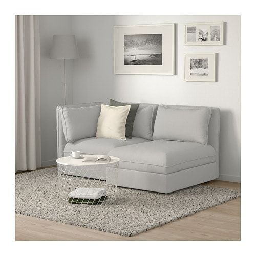 Vallentuna Modular Loveseat With Storage Orrsta Light Gray Ikea Vallentuna Sofa Bed For Small Spaces Modular Sofa