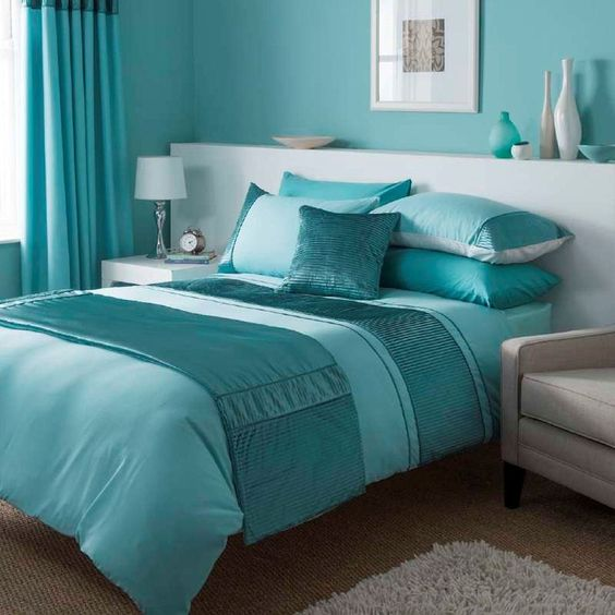 Catherine Lansfield Heat Seal Duck Egg Quilted Runner Bedroom Accessories in Home, Furniture & DIY, Bedding, Bed Linens & Sets | eBay #bed #bedding #duvet #duckegg #turquoise #teal #CatherineLansfield #stylish #thatsdarling #bedroom #style #decor #modern #cosy #relax #relaxing #doubleduvet #home #linen #homedecor #homestyle #interior #design #HarvardMills #LordOfTheLinens