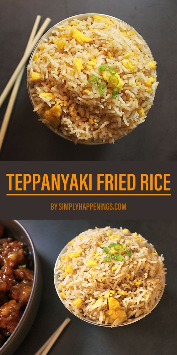 Teppanyaki Fried Rice | Simply Happenings