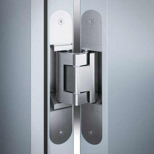 Tectus Hinge Installation Photo Showing Concealed Te540 Concealed Hinge Tectus The