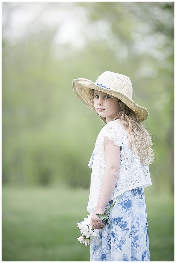 On Location Session, Five Year Old Girl, Knoxville Children's Photographer | Sprouting Hearts Photography