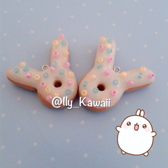 Donuts bunny #polymerclay #fimo #handmade #diy #kawaii #cute #craft #crafty #crafts #charm #charms #jewelry #bijoux #miniature #creativity #creation #art #fimoclay #polymerclaycharms #clay #polymer #handmadejewelry #handmadeclay #polymerclaycreations #fimocharm #fimocreations #claycharm #donuts #bunny #donutsbunny #ciambelline #coniglietto #molang #donut #candy #sweets