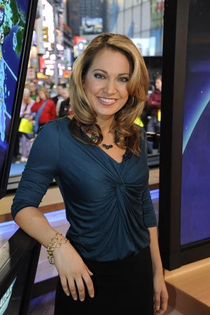 "Good Morning America Female Hosts : Ginger zee weather anchor ""good morning america news"