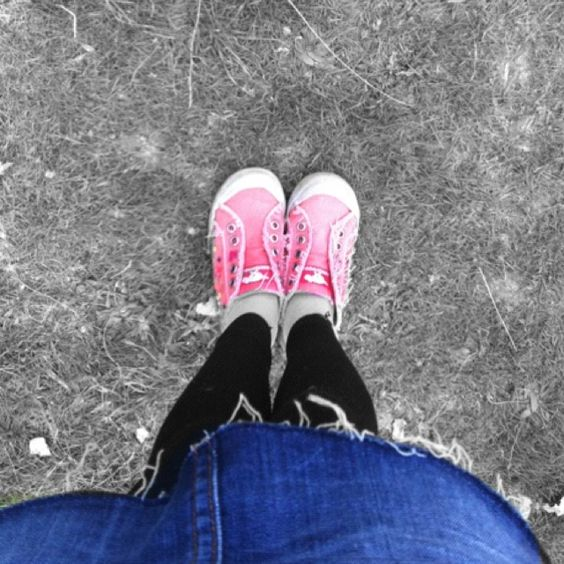 Taken by my 13 year old. Her favourite shoes!