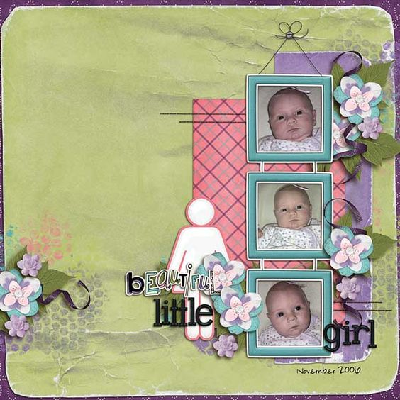 Layout by Natalie using Simply Me Digital Scrapbooking Kit by Simple Girl Scraps