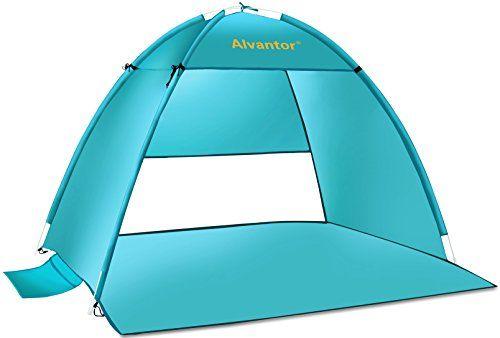 Alvantor Coolhut Beach Tent Beach Umbrella Outdoor Sun Shelter Cabana Automatic Pop Up Upf 50 Sun Shade Portable Camp Beach Umbrella Camping Canopy Beach Tent