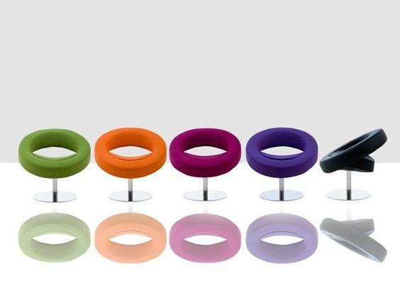 HELLO Sessel Wohnzimmer Drehsessel Softline Filz SOFTLINE - sessel wohnzimmer design