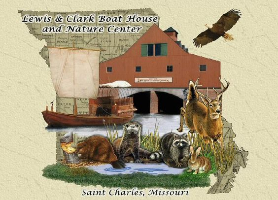 Lewis and Clark Boathouse and Nature Center is St. Charles, Missouri