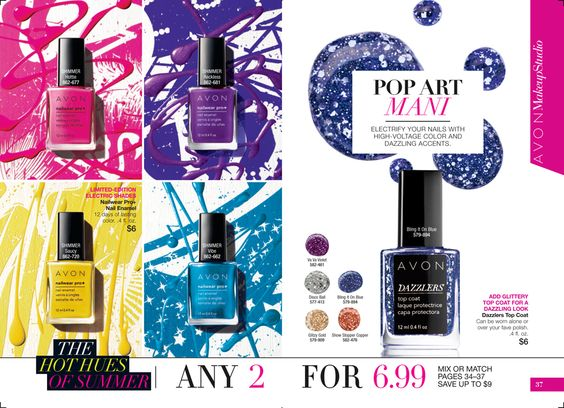eBrochure | AVON - Love the finished results! Great Look! See More Colors At:  http://www.youravon.com/srudek