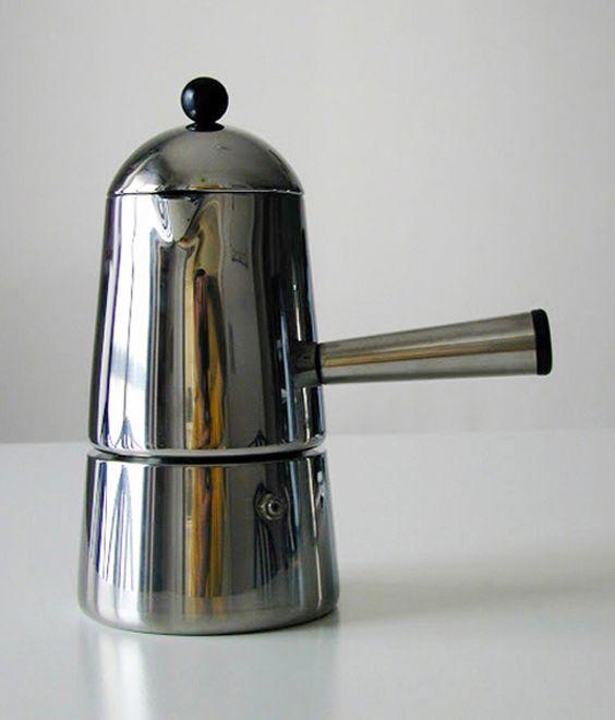 Lavazza Italian Coffee Maker : Espresso Maker CARMENCITA (Marco Zanuso for Lavazza, 1979) Form and Function Pinterest ...