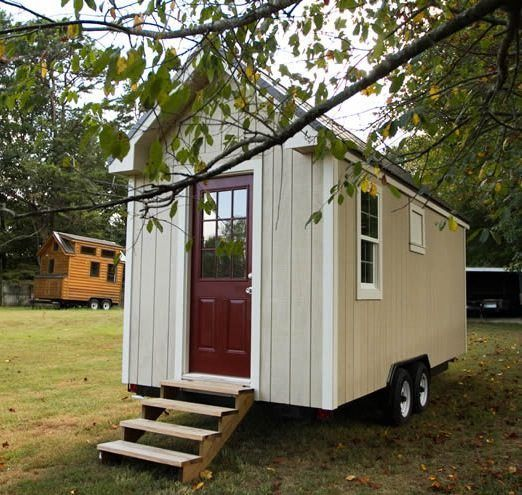 Simple Living Tiny House For Sale 0007 Tiny House Exterior Tiny House Plans Small Cottages Tiny House