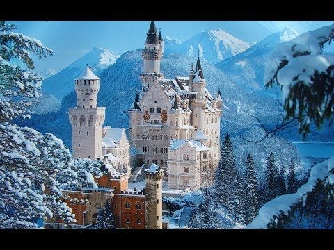Neuschwanstein And Hohenschwangau Castles Dji Phantom 3 Pro 4k Video Best Of Europe Youtube Germany Castles Neuschwanstein Castle Beautiful Castles