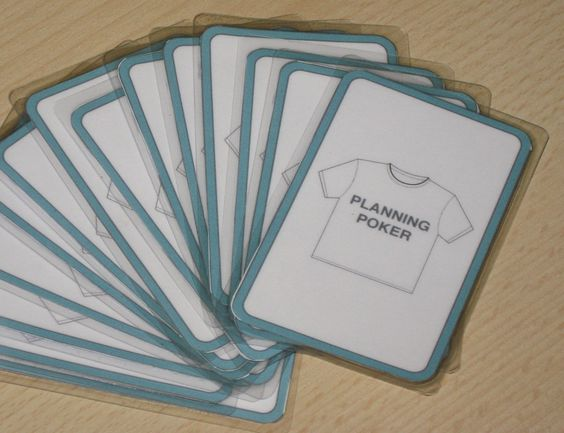 Make Your Own Planning Poker Deck Planning Poker Card Template Holiday Photo Cards Template