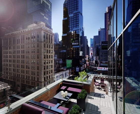 #novotel new york times square - new look inspired to Broadway for the flagship hotel in town