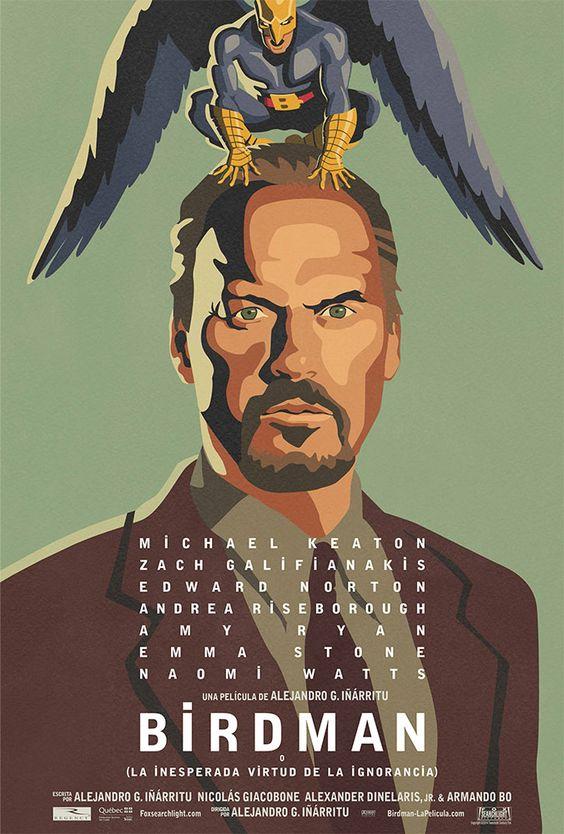Trailer y Poster de 'BIRDMAN' de Alejandro González Iñarritu