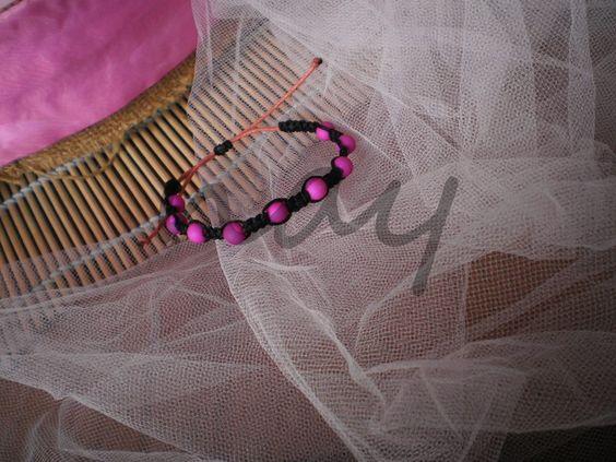 BR61 - 10,000 LL #pinky #funky #mini #bead #bracelet