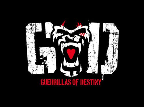 G O D Parka New Japan Pro Wrestling F S Size Xl Pro Wrestling Japan Pro Wrestling Bullet Club Logo