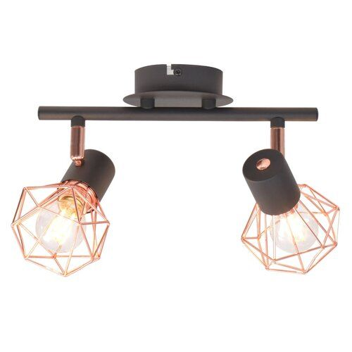Borland 2 Light Track Kit Williston Forge In 2020 Ceiling Lamp