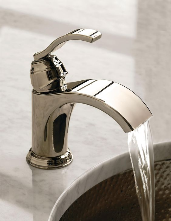 Faucets, Waterfall Faucet And Bathroom Sink Faucets On