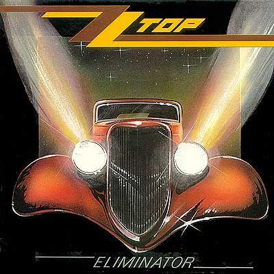 ZZ Top Eliminator 1983 LP