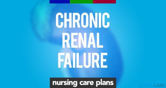11 Chronic Renal Failure Nursing Care Plans Pinterest Nursing - care plan