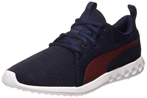 Puma Men S Peacoat Pomegranate Running Shoes 9 Uk India 43 Eu
