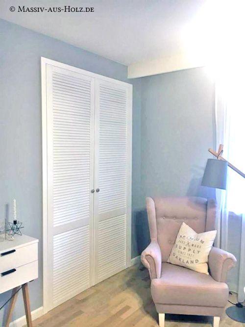 Mobel Mit Lamellen Hingucker Des Tages Massiv Aus Holz Lamellenturen Einbauschrank Einbauschrank Schlafzimmer