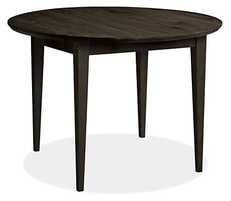 Adams round tables virginia west virginia and furniture for Dining table overhang
