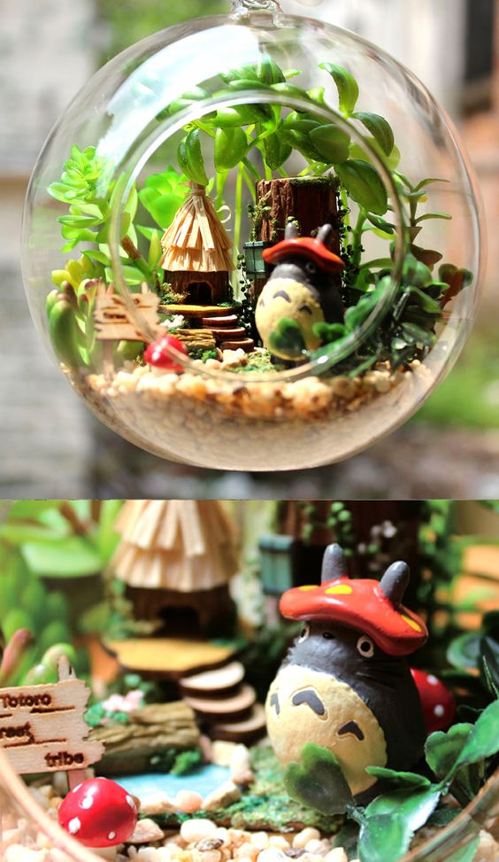 My Neighbor Totoro Terrarium: